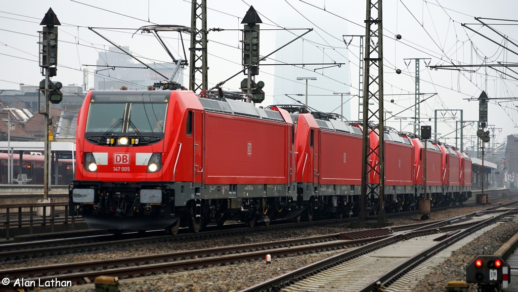 6 x Br147 through Frankfurt-Süd 23 Dec 2016